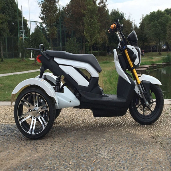Adult electric tricycle 1500W Wide tire Electric scooter 72V/20A Electric scooter Electric Motorcycle Citycoco