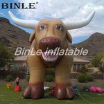 Amazing huge inflatable bull mascot  inflatable cattle for pasture decoration