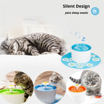 Automatic Cat / Dog Electric Pet Drinking Fountain Water Dispenser