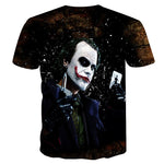 BIANYILONG Newest Harajuku Joker Poker 3D Print Cool T-shirt Men/Women Short Sleeve Summer Tops Tees T shirt Fashion