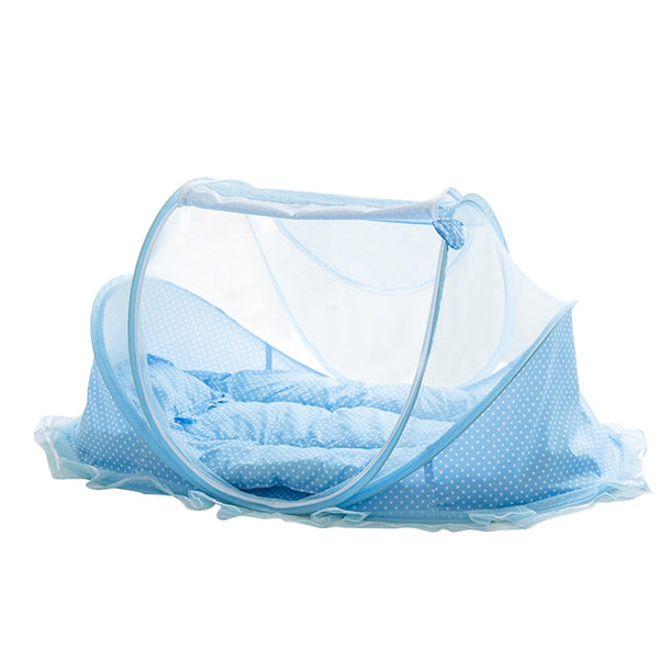 Baby Bedding Crib Netting Folding Baby Music Mosquito Nets Bed Mattress Pillow Three-piece Suit For Children Bedding Sets
