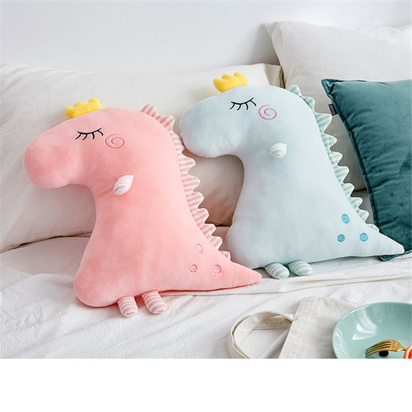 Baby Pillow Cartoon Dinosaur Plush Toys Kids Room Decor infant Baby Bedding Sleep Toys Pillow Infant Photography Props