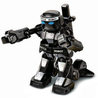 Battle RC Robot 2-Channels 2.4GHz Body Sense Remote Control Toy Robot With Boxing Sound And Indicative Light Model Kids Gift