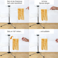 Best Kitchen Accessories Noodle Spaghetti Drying Rack Safe Material Pasta Holder Stand Dryer Cooking Tools Gadget
