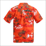 Brand New Hawaiian Shirt Men Summer Short Sleeved Palm Tree Printed Hawaii Shirts US Size Beach Aloha Shirts Hotel Uniform A933