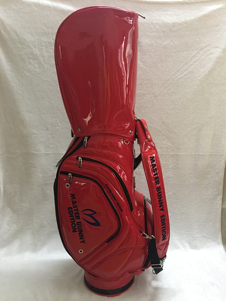 Brand New Master Bunny Edition Golf Standard Package PU Master Bunny Golf Bag Red Golf Clubs Bag Free Shipping
