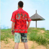 Brand New Summer Style Hawaiian Shirt US SIZE Cotton Short-Sleeved Hawaiian Shirt Men Casual Beach Hawaii Shirt Free Shipping