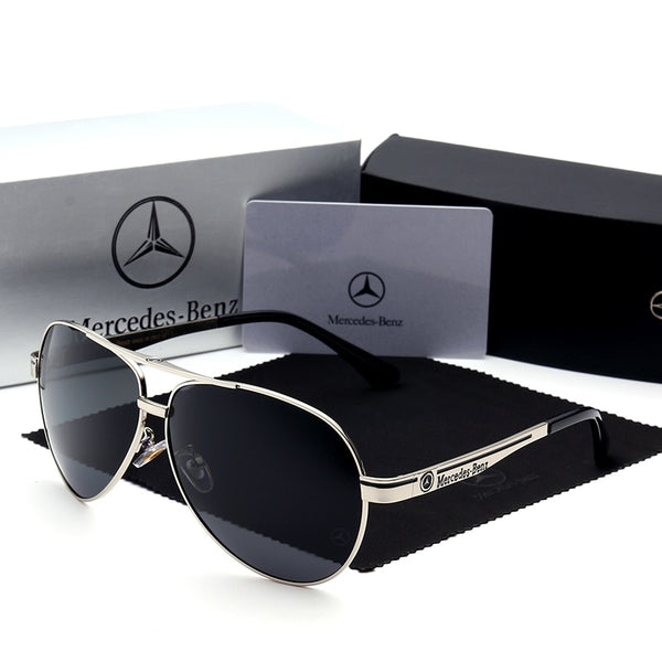 Mercedes Sunglasses Men New Fashion Eyes Protect Sun Glasses With Accessories Unisex driving goggles oculos de sol