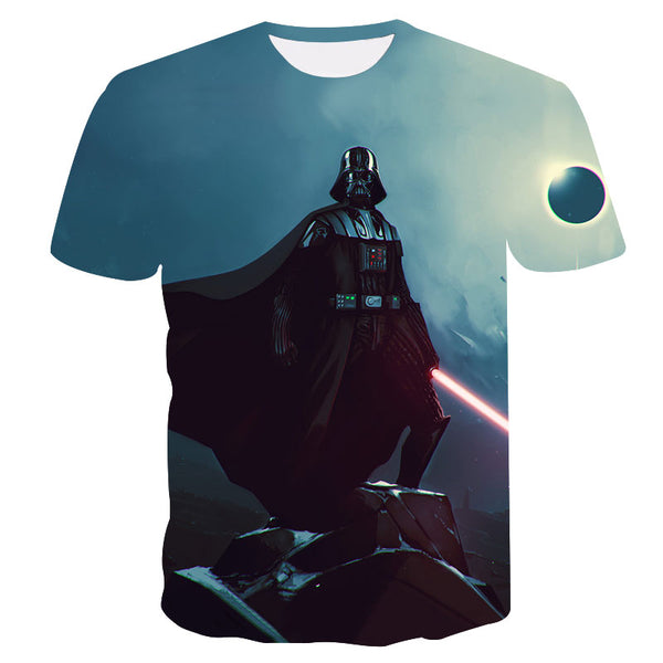 Brand T-shirt Fashion Mens 3d t-shirt Star Wars Darth Vader Printed Summer Men/Women Casual Cool Tee shirts Dropship ZOOTOPBEAR
