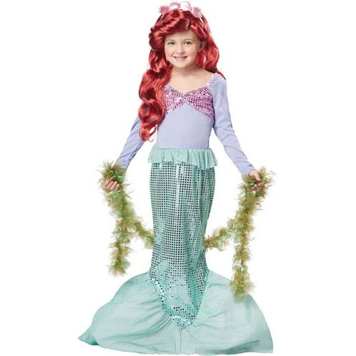 LITTLE MERMAID CHILD XSM 4-6