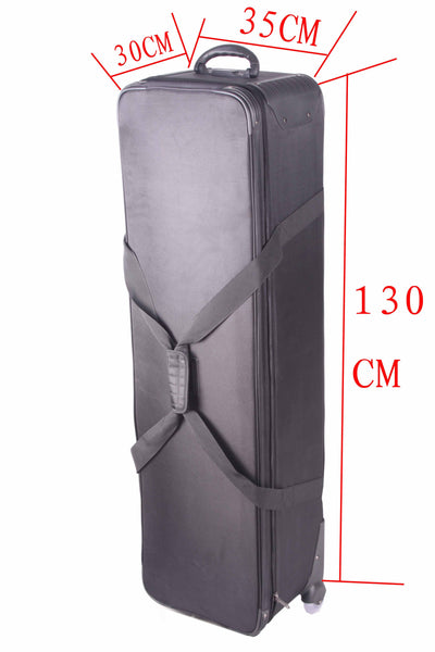 CD50  Studio lights bags 130cm long 35 30 trolley luggage box lamps bags trolley luggage