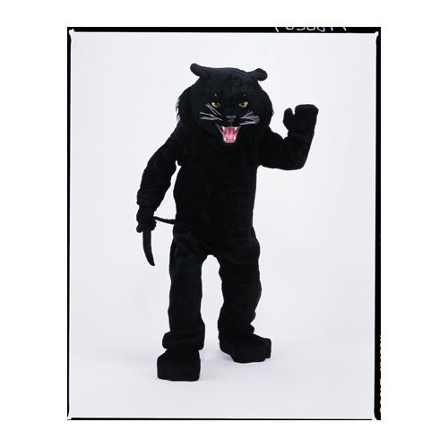 PANTHER BLACK MASCOT COMPLETE
