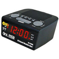 QFX All Hazard Weather Alert Radio