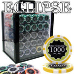 1,000 Ct Pre-Packaged Eclipse 14 Gram Chip Set - Acrylic