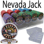 Custom Breakou - 200 Ct Nevada Jack Chip Set Acrylic Tray