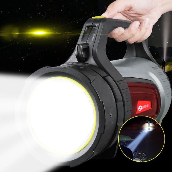 Super Bright Flashlight Torch USB Rechargeable