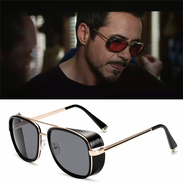 CURTAIN 2019 Steam Punk Square Sunglasses Men Fashion Brand Designer Sun Glasses Women Gothic Eyewear UV400 Gafas oculos de sol
