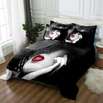 3D Sex Goddess Print Bedding Set. Bed/flat Sheet Linen set Duvet Quilt Cover Pillowcase. Make sure Color number and Size numbers are the same.