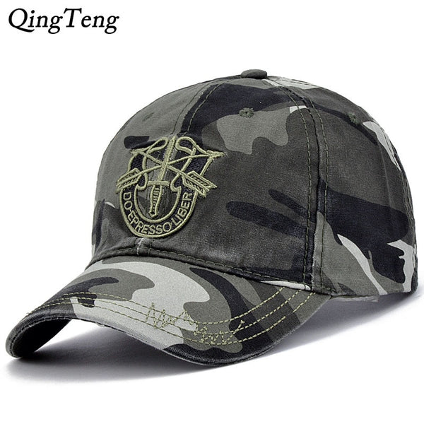 Camo Hat Male Outdoor Hunting Camouflage Men Baseball Caps Army Camo Snapback Tactical Cap Casquette Woman Luxury Army Cap