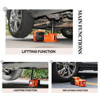 Car Electric Jack SUV Jacks Hydraulic Floor Impact Wrench 45MM 12V 5 Ton Lift Auto Emergency Tire Change Lifting Repair Tool