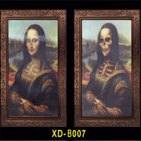 Changeable 3D Ghost Photos Frame Halloween Decoration Spooky Bachelorette Size: 10x15 Inches