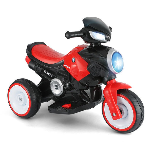 Child Electric Motorcycle Tricycle Battery Car With Music Kids Ride