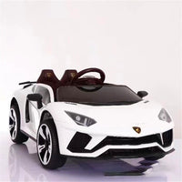 Children Electric Car Remote Control Toys LED RC Car Four Wheels Electric Vehicle Double Drive Rechargable Kids Ride on Toys Car