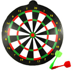 Children Indoor Outdoor Sport Toys Parent-child Game Safety Dart Board With 2 Magnetic Head Darts Educational Toys For Kids