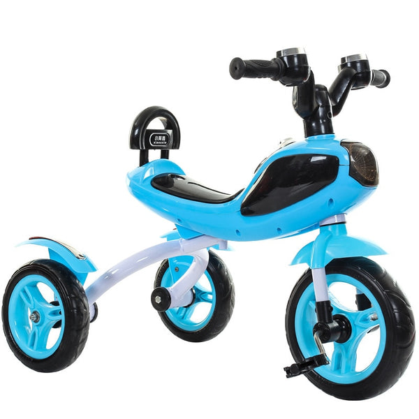 947abff9ac6 Children Tricycle Bicycle Cool Music Light Whistle Kids Three Wheels  Tricycle Ride on Car Toys for