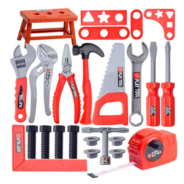 Children's Toolbox Set Simulation Repair Tool Drill Screwdriver Repair Kit House play Toys Tool Set Puzzle Toy Set for kids