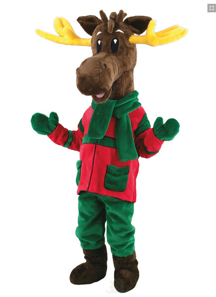 Christmas Reindeer Milu deer Costume  Mascot Costume for adults christmas  Halloween Outfit Fancy Dress Suit Free Shipping