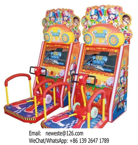 Coin Operated Redemption Game Machine Skateboard Simulator Arcade Machine
