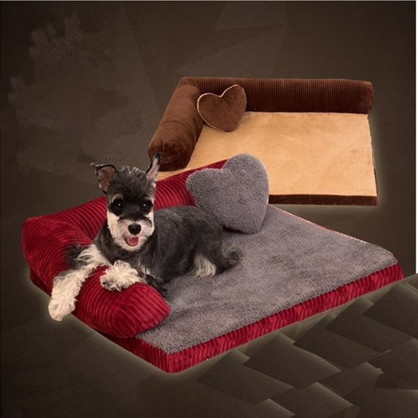 Comfortable Kennel Pet Dogs Bed Mats Washable Dog Large Mat Luxury Nest Blanket Pet Sofa Bed Camas Perrons Pet Supply 70Z1328