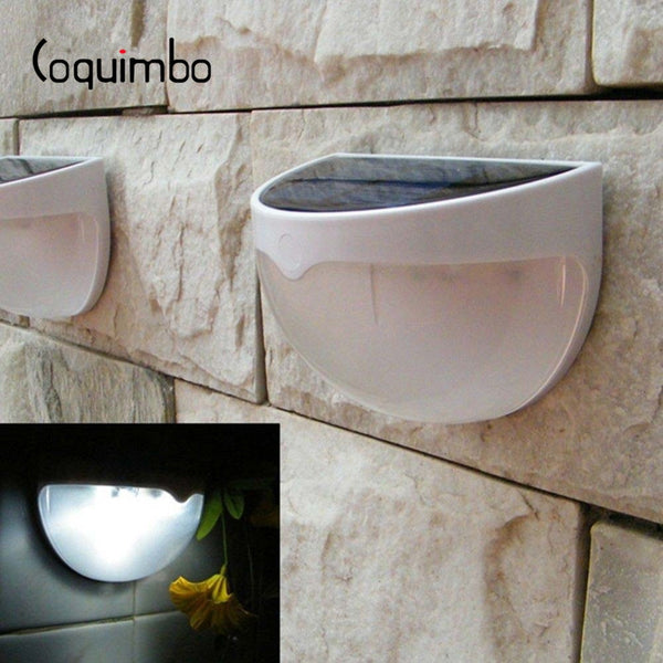 Coquimbo 6 LED Solar Panel Lamp Sensor Light Built In Rechargeable Ni-MH Battery Waterproof Solar Light Garden Outdoor Light