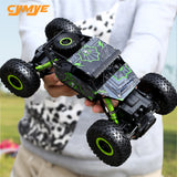 Cymye Racing RC Car 1:18 Rock Crawler 2.4GHz Wireless Remote Control claiming Car