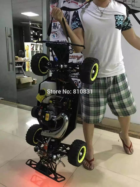 DDT 1/5 Two Strokes Gasoline RC car Off-road Vehicles Monster Truck 38cc Engine Better Than LOSI 5IVE-T KM X2 Rovan Baja LT