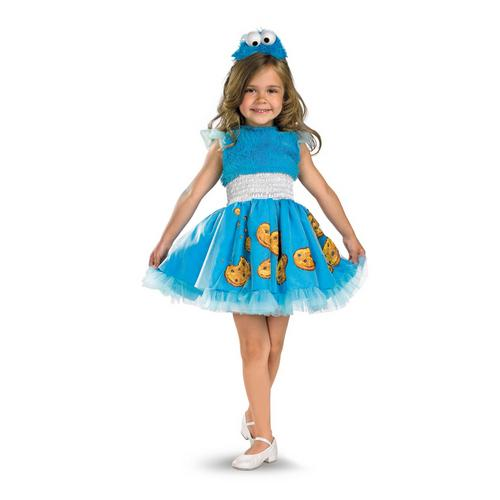 COOKIE MONSTER FRILLY 3T-4T