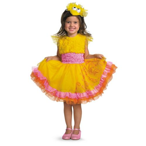 SESAME ST BIG BIRD FRILLY 3-4T