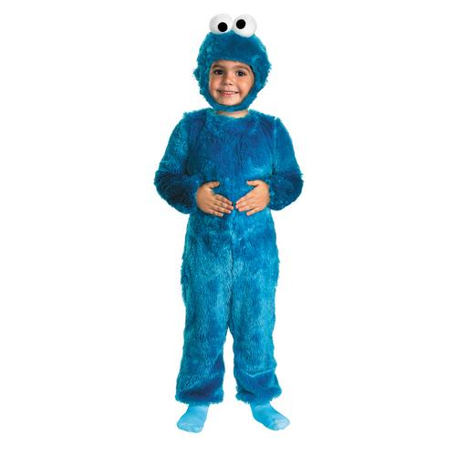 SESAME ST COOKIE MONSTER 3T-4T