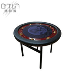 DTLN Round Texas Hold'em Table 140*140 Foldable Iron Table