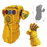 Diamond NO compatible legoing Marvel The Avengers 4 mini blocks Thanos Infinity Gauntlet war 3 nano super hero MOC creator sets