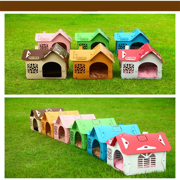 Dog House Pet Supplies Removable Dog House Medium Dog House Dog House Outdoor weatherproof kennel
