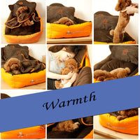 Dogs House Can Be Washed Durable Short Plush Fleece Blanket Dog Sofa Lit Pour Chien Linen Bed Cover Poodle Sleeping Bag 60Z1145