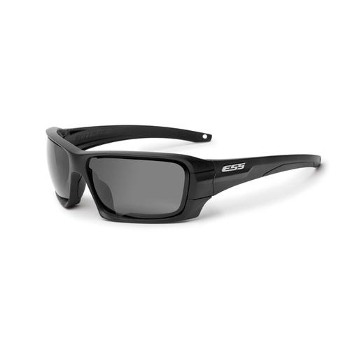 Rollbar Tactical Sunglasses Black Frame, Silver Logo, Gray Lenses