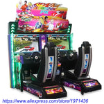 English Version Amusement Coin Operated Arcade Simulator Outrun Driving Car Racing Game Machine