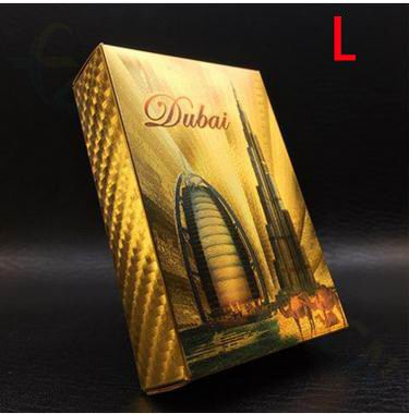 24K Gold Plated Playing Cards Euro US dollars Style Waterproof Plastic Playing Cards Gold Foil Poker Golden Poker Cards 24K Plated Poker Table Games