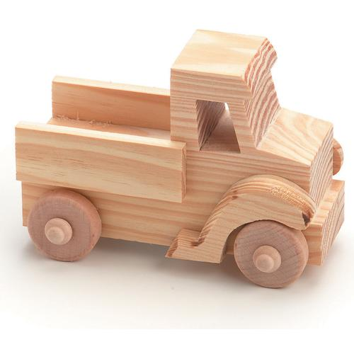 Darice Wood Model Kit Toy Truck 4 X 2.75 Inches