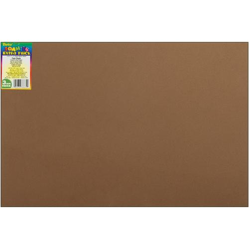 Darice Foamies Foam Sheet Brown 3mm thick 12 X 18 Inches