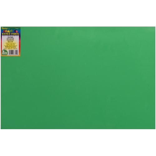 Darice Foamies Foam Sheet Christmas Green 3mm thick 12 X 18 Inches