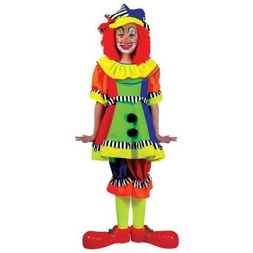 SPANKY STRIPES CLOWN SML CHILD